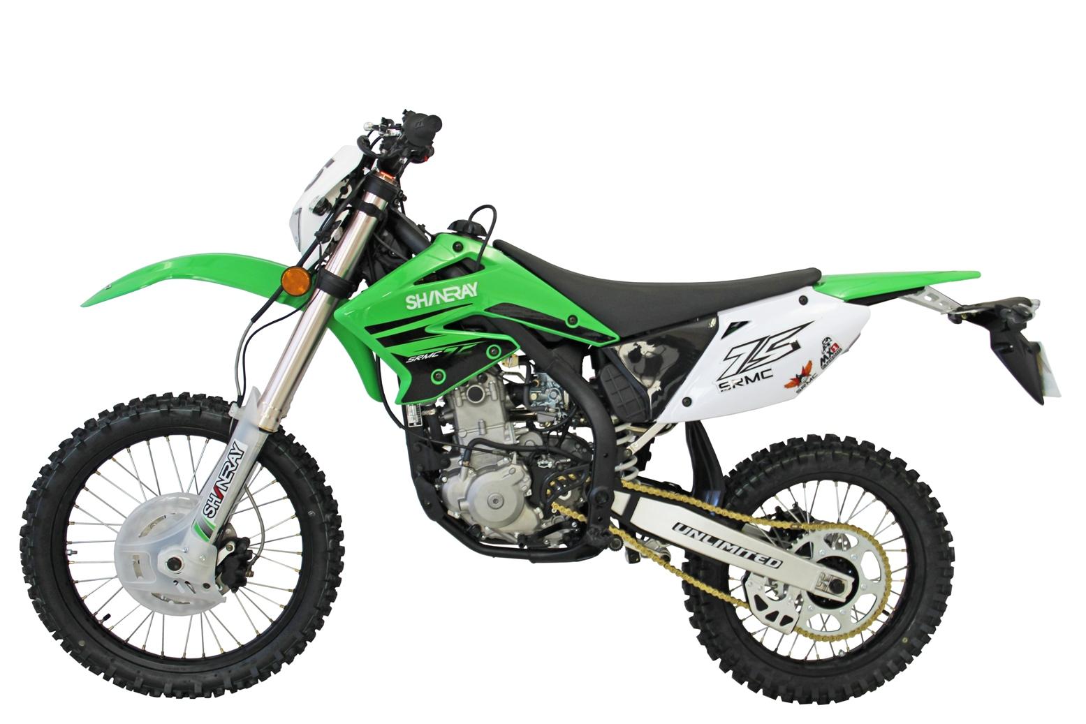 МОТОЦИКЛ SHINERAY XY 250GY-7 (X6) Green  Артмото - купить квадроцикл в украине и харькове, мотоцикл, снегоход, скутер, мопед, электромобиль