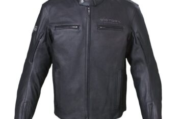 Kingston Jacket - Black Leather by Victory Motorcycles®