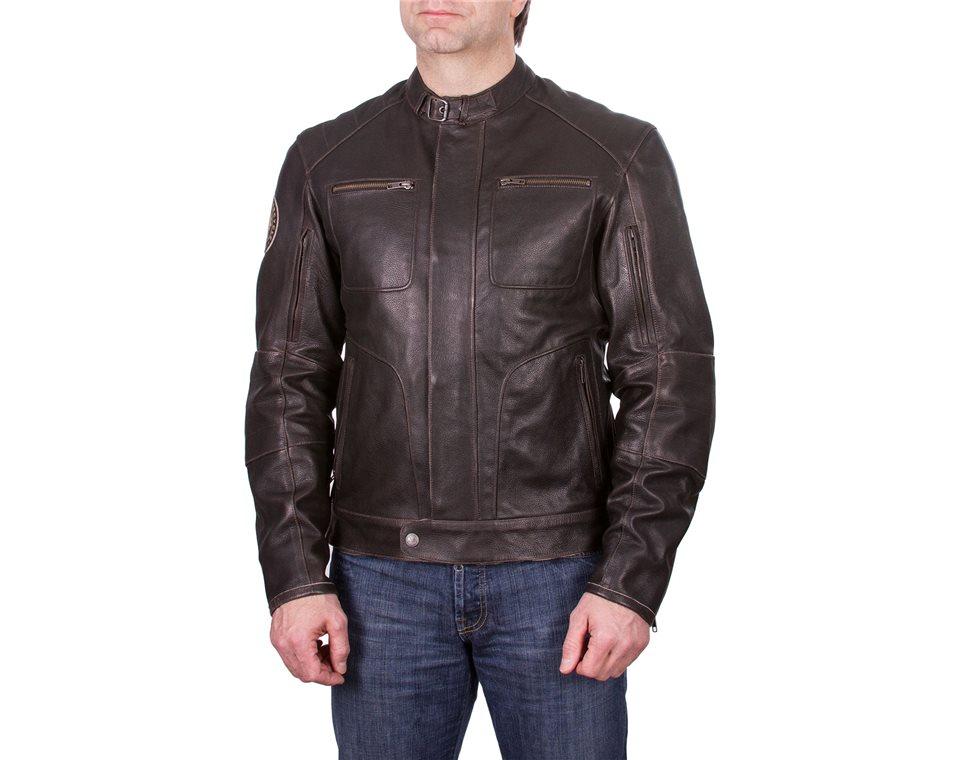 Brown Leather Rocker Jacket by Indian Motorcycle  Артмото - купить квадроцикл в украине и харькове, мотоцикл, снегоход, скутер, мопед, электромобиль
