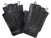 Fingerless Gloves — Black leather by Indian Motorcycle