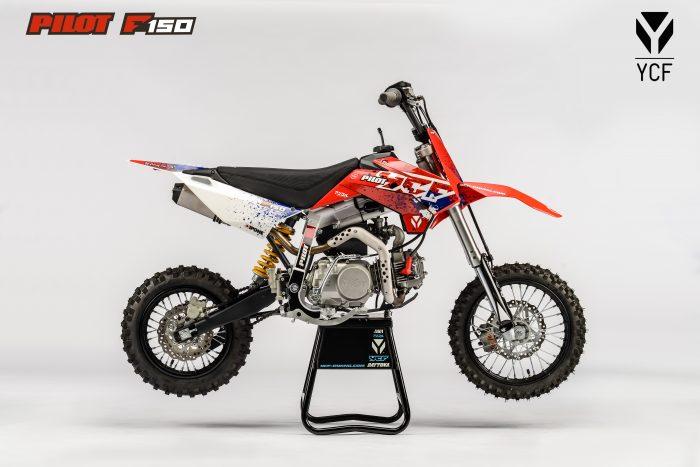 ПИТБАЙК YCF PILOT F150E 2021  Артмото - купить квадроцикл в украине и харькове, мотоцикл, снегоход, скутер, мопед, электромобиль