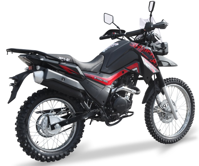 МОТОЦИКЛ SHINERAY X-TRAIL 200 ― Артмото - купить квадроцикл в украине и харькове, мотоцикл, снегоход, скутер, мопед, электромобиль