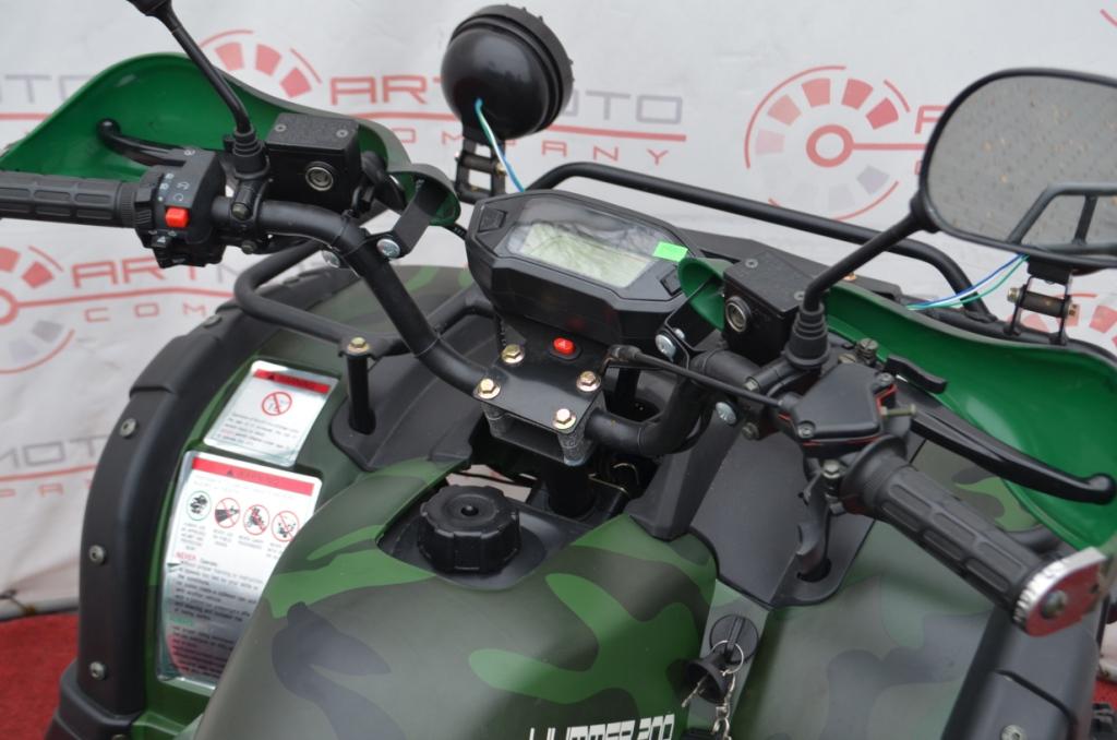 КВАДРОЦИКЛ HUMMER 200 LUX SD  Артмото - купить квадроцикл в украине и харькове, мотоцикл, снегоход, скутер, мопед, электромобиль