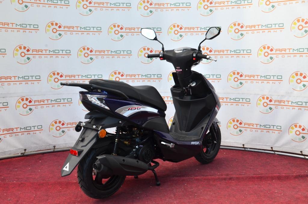 СКУТЕР FADA JOG YB80QT-3  Артмото - купить квадроцикл в украине и харькове, мотоцикл, снегоход, скутер, мопед, электромобиль