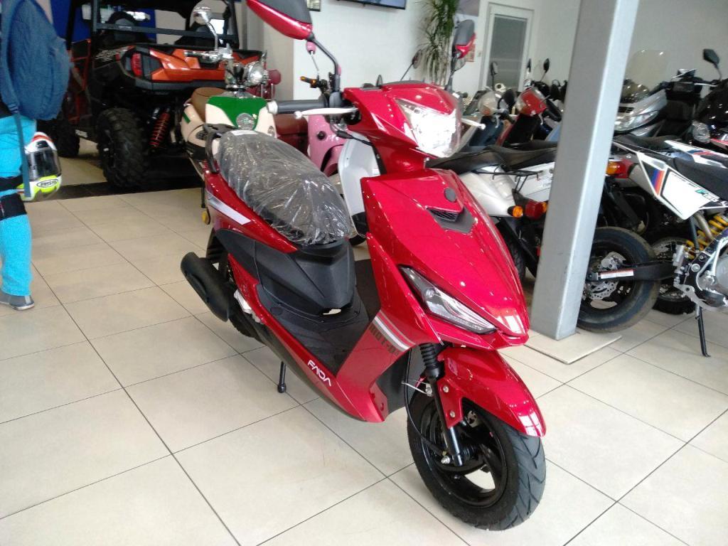 СКУТЕР FADA JOG (YB80QT-3)  Артмото - купить квадроцикл в украине и харькове, мотоцикл, снегоход, скутер, мопед, электромобиль