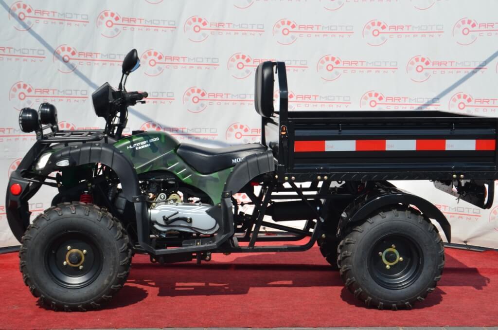 ГРУЗОВОЙ КВАДРОЦИКЛ HUMMER CARGO 200 ― Артмото - купить квадроцикл в украине и харькове, мотоцикл, снегоход, скутер, мопед, электромобиль