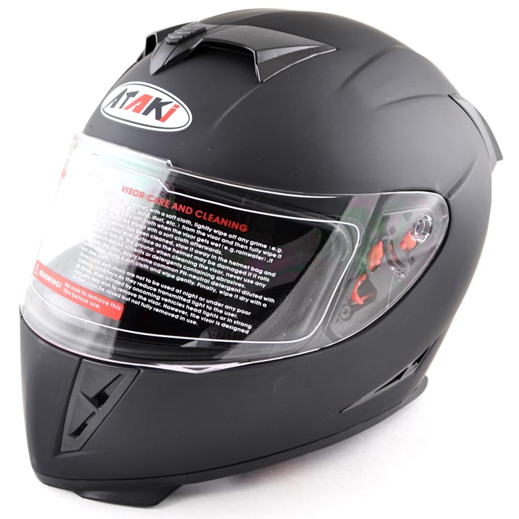 МОТОШЛЕМ ATAKI FF311 Black  Артмото - купить квадроцикл в украине и харькове, мотоцикл, снегоход, скутер, мопед, электромобиль