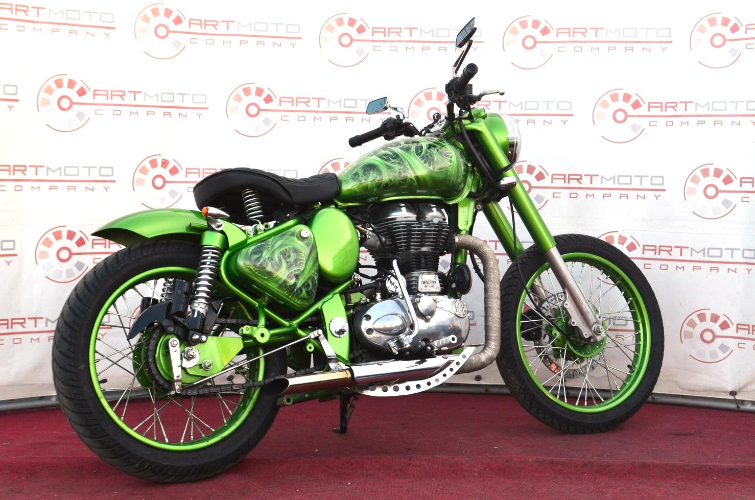 МОТОЦИКЛ ROYAL ENFIELD CLASSIC 500 CUSTOM ― Артмото - купить квадроцикл в украине и харькове, мотоцикл, снегоход, скутер, мопед, электромобиль