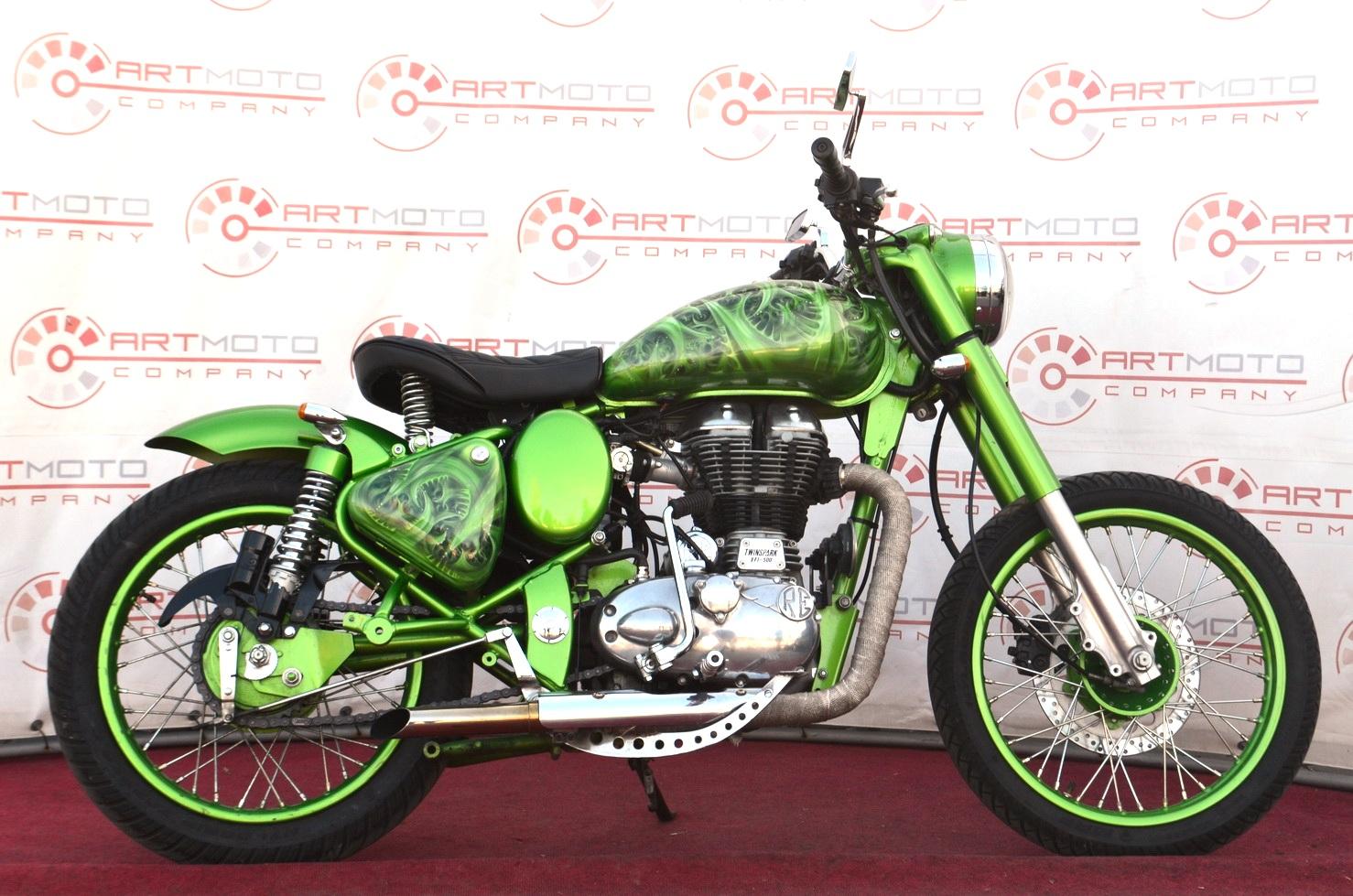 МОТОЦИКЛ ROYAL ENFIELD CLASSIC 500 CUSTOM  Артмото - купить квадроцикл в украине и харькове, мотоцикл, снегоход, скутер, мопед, электромобиль
