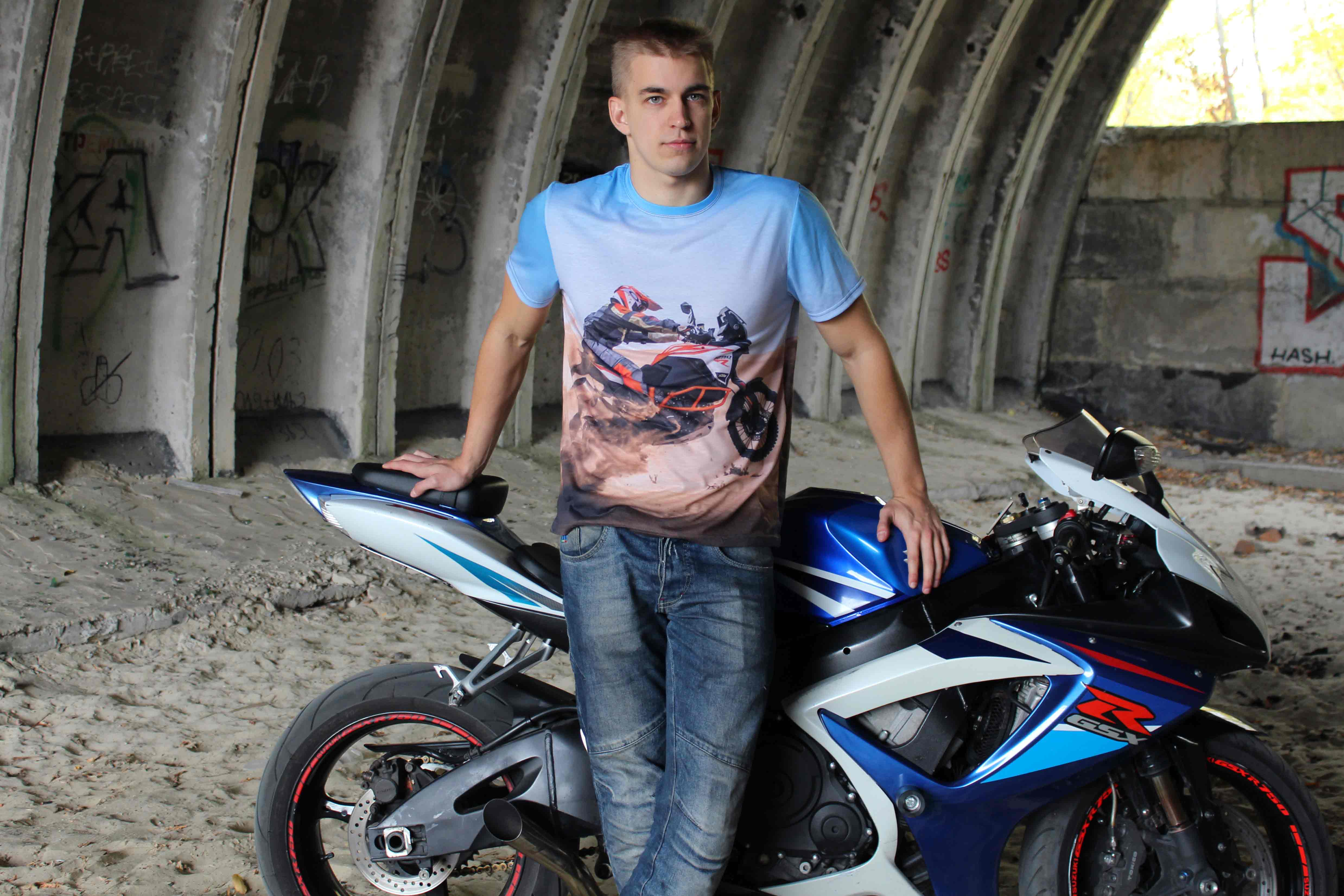 ФУТБОЛКА 4Y PRINT  Артмото - купить квадроцикл в украине и харькове, мотоцикл, снегоход, скутер, мопед, электромобиль