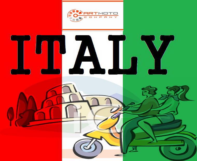 Итальянские скутеры Aprilia и Gilera