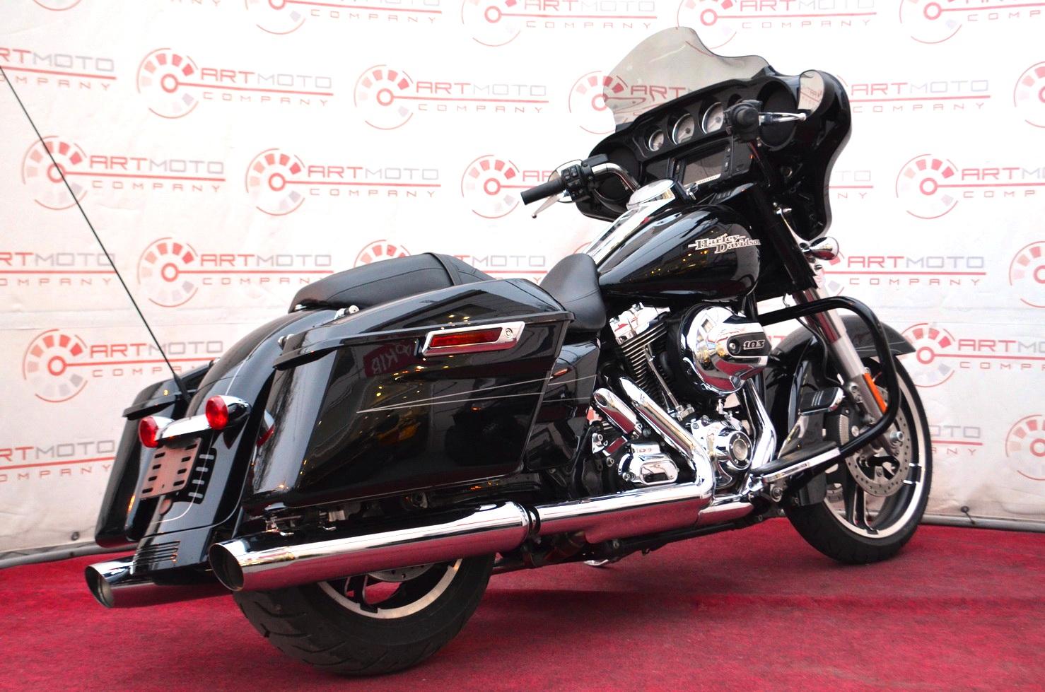 МОТОЦИКЛ HARLEY DAVIDSON FLHXS STREET GLIDE 2015  Артмото - купить квадроцикл в украине и харькове, мотоцикл, снегоход, скутер, мопед, электромобиль