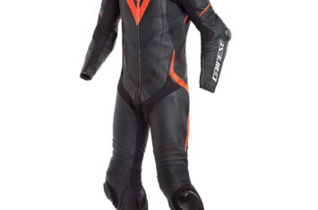 МОТОКОМБИНЕЗОН DAINESE LAGUNA SECA 4 PERFORATED RACE SUIT BLACK RED