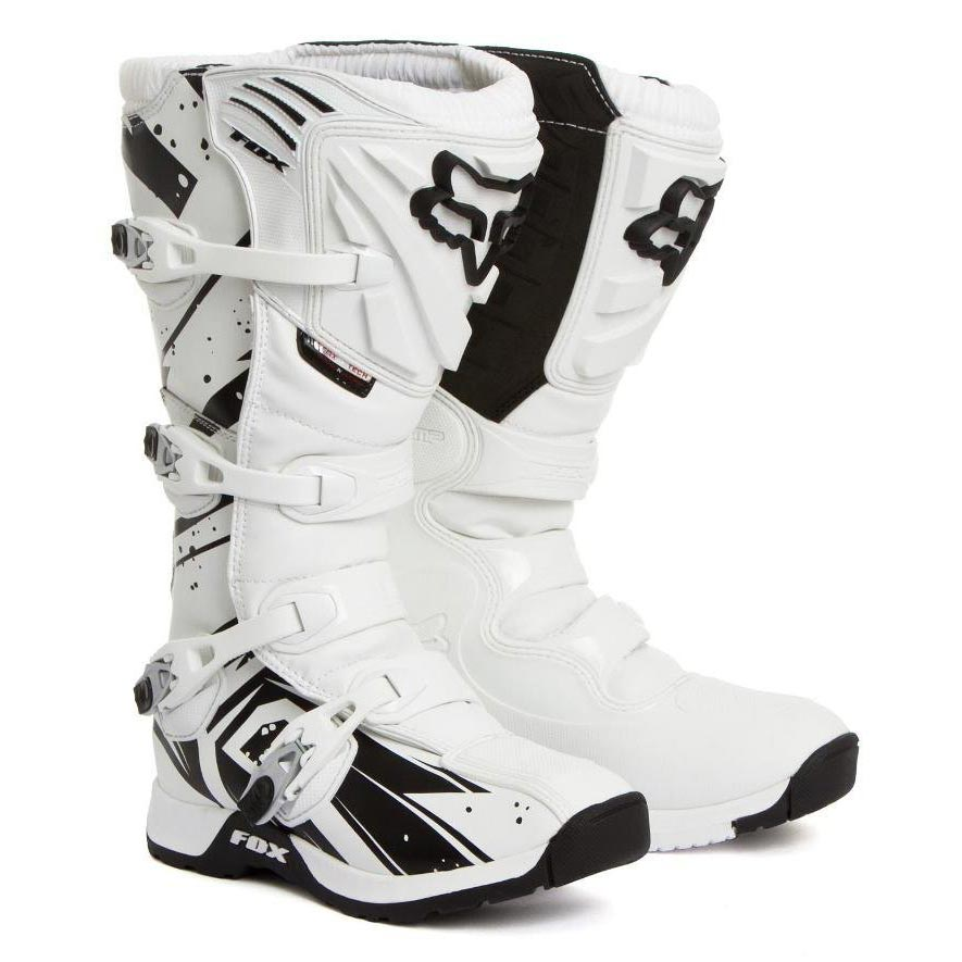 МОТОБОТЫ FOX COMP 5 UNDERTOW WHITE ― Артмото - купить квадроцикл в украине и харькове, мотоцикл, снегоход, скутер, мопед, электромобиль
