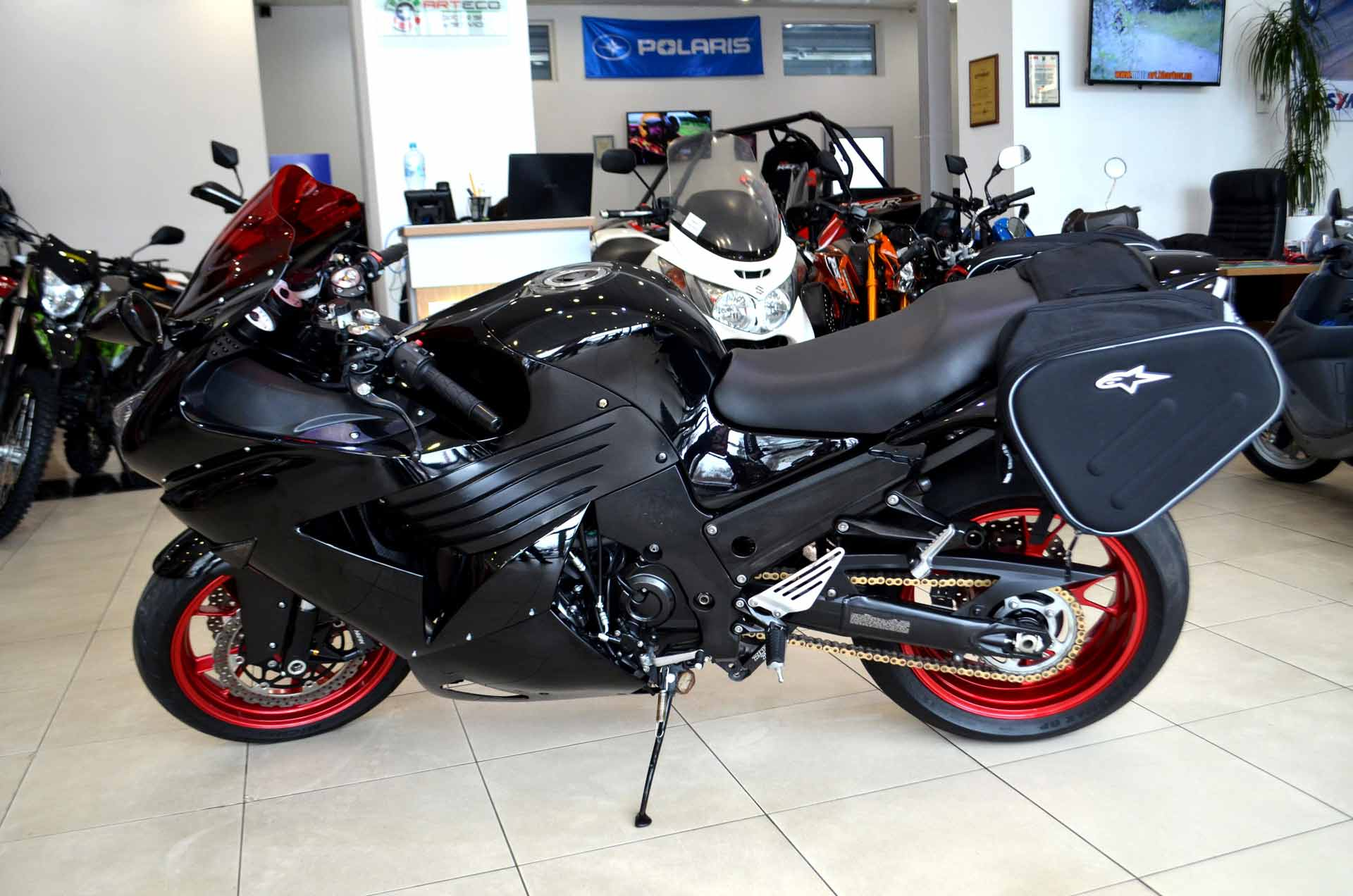 МОТОЦИКЛ KAWASAKI NINJA ZX-14 (ZZR 1400) ― Артмото - купить квадроцикл в украине и харькове, мотоцикл, снегоход, скутер, мопед, электромобиль