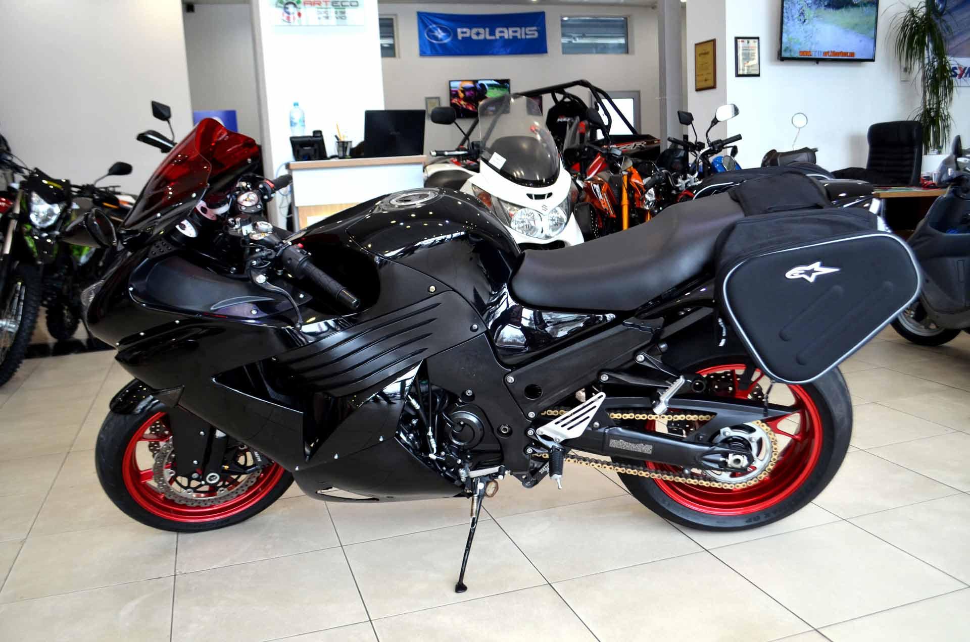 МОТОЦИКЛ KAWASAKI NINJA ZX-14 (ZZR 1400)  Артмото - купить квадроцикл в украине и харькове, мотоцикл, снегоход, скутер, мопед, электромобиль