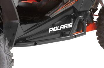 Стальной слайдер Polaris RZR 1000 Extreme Kick Out Steel Rock Sliders