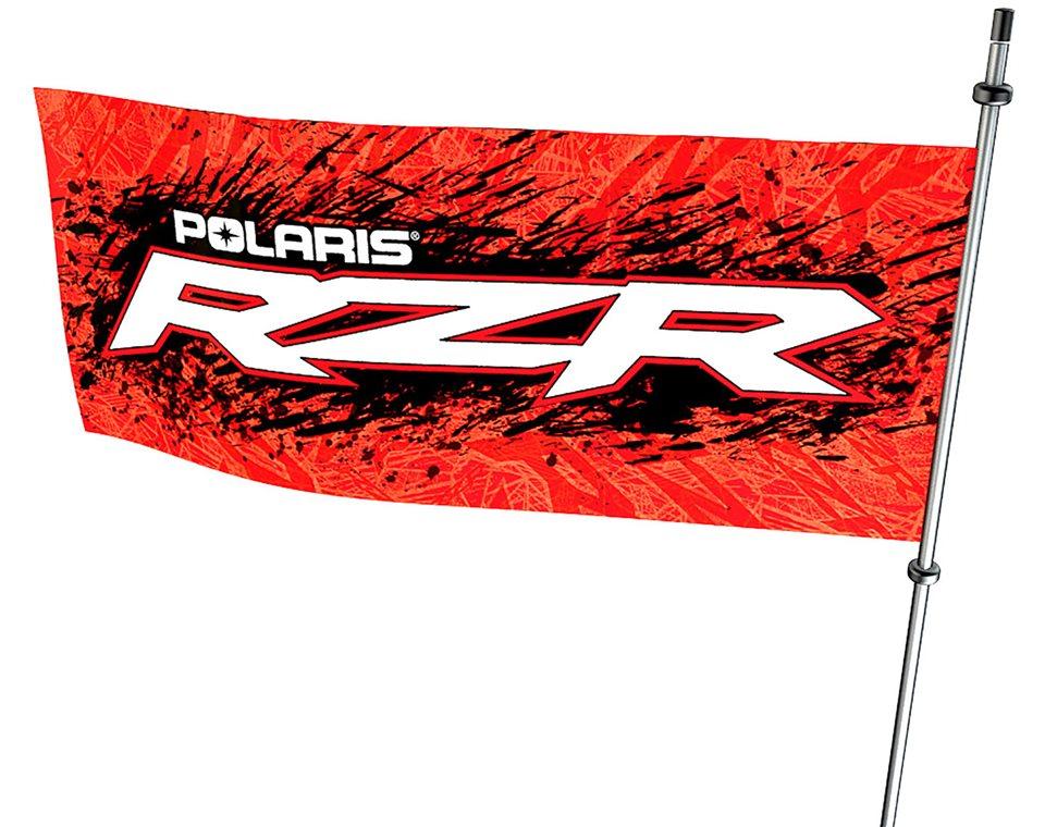 ФЛАГ POLARIS RZR 1000 RZR® WHIP FLAG ― Артмото - купить квадроцикл в украине и харькове, мотоцикл, снегоход, скутер, мопед, электромобиль