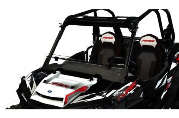 Лобовое стекло Polaris RZR 1000 Flip-Down Windshield - Hard Coat Poly