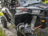 ЛОБОВОЕ СТЕКЛО POLARIS RZR 1000 FLIP-DOWN WINDSHIELD — HARD COAT POLY