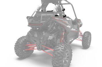 Задняя панель Polaris RZR 1000 Lock & Ride Rear Panel - Poly