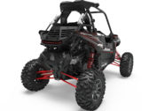 ЗАДНЯЯ ПАНЕЛЬ POLARIS RZR 1000 LOCK & RIDE REAR PANEL — POLY