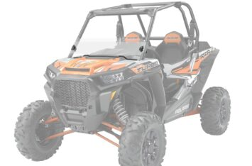 Лобовое стекло Polaris RZR 1000 Lock & Ride Half Windshield - Hard Coat Poly