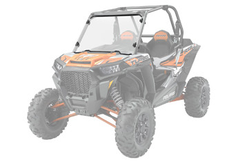 Лобовое стекло Polaris RZR 1000 Lock & Ride Full Windshield - Hard Coat Poly