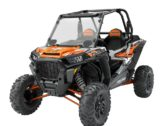 ЛОБОВОЕ СТЕКЛО POLARIS RZR 1000 LOCK & RIDE VENTED WINDSHIELD — HARD COAT POLY