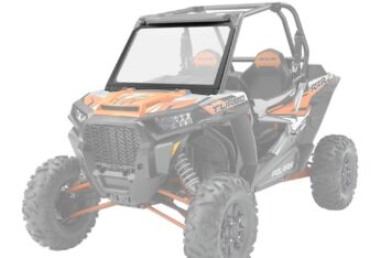 Лобовое стекло Polaris RZR 1000 Vented Windshield - Glass