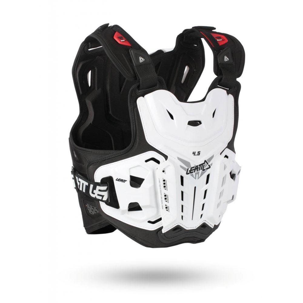 МОТОЗАЩИТА ТЕЛА CHEST PROTECTOR LEATT 4.5 WHITE  Артмото - купить квадроцикл в украине и харькове, мотоцикл, снегоход, скутер, мопед, электромобиль