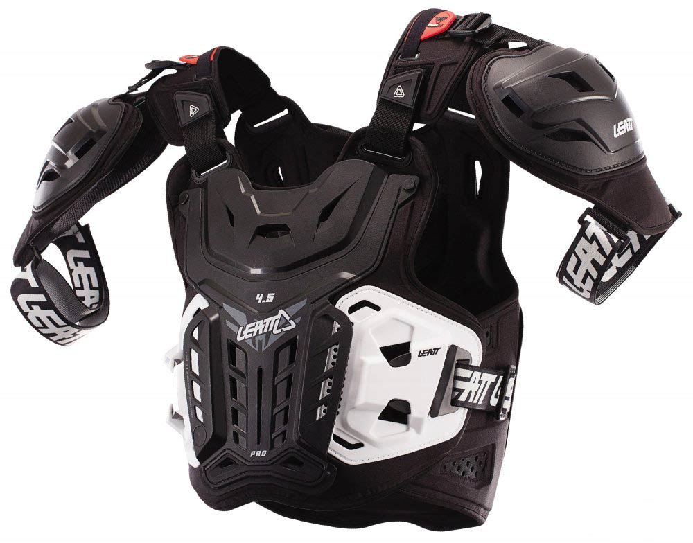 МОТОЗАЩИТА ТЕЛА CHEST PROTECTOR LEATT 4.5 PRO BLACK ― Артмото - купить квадроцикл в украине и харькове, мотоцикл, снегоход, скутер, мопед, электромобиль