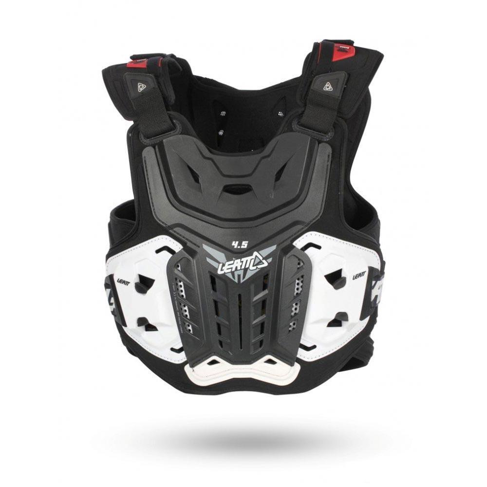 МОТОЗАЩИТА ТЕЛА CHEST PROTECTOR LEATT 4.5 BLACK ― Артмото - купить квадроцикл в украине и харькове, мотоцикл, снегоход, скутер, мопед, электромобиль