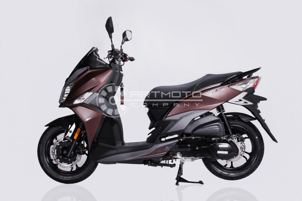 Скутер SYM JET 14 200  Артмото - купить квадроцикл в украине и харькове, мотоцикл, снегоход, скутер, мопед, электромобиль