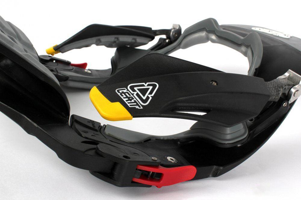 ЗАЩИТА ШЕИ LEATT BRACE STX ROAD ЧЕРНО-ЖЕЛТАЯ  Артмото - купить квадроцикл в украине и харькове, мотоцикл, снегоход, скутер, мопед, электромобиль