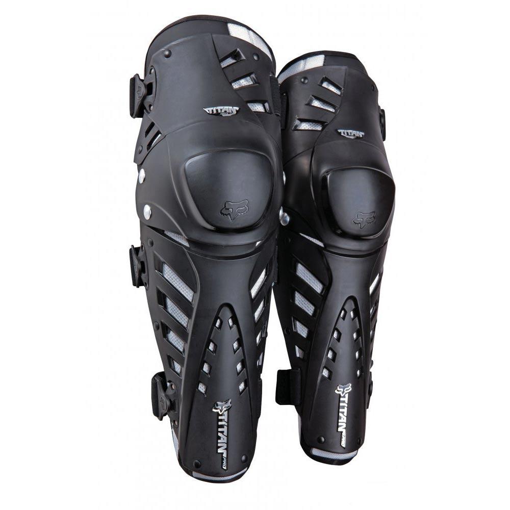 НАКОЛЕННИКИ FOX TITAN PRO KNEE GUARD CE BLACK ― Артмото - купить квадроцикл в украине и харькове, мотоцикл, снегоход, скутер, мопед, электромобиль