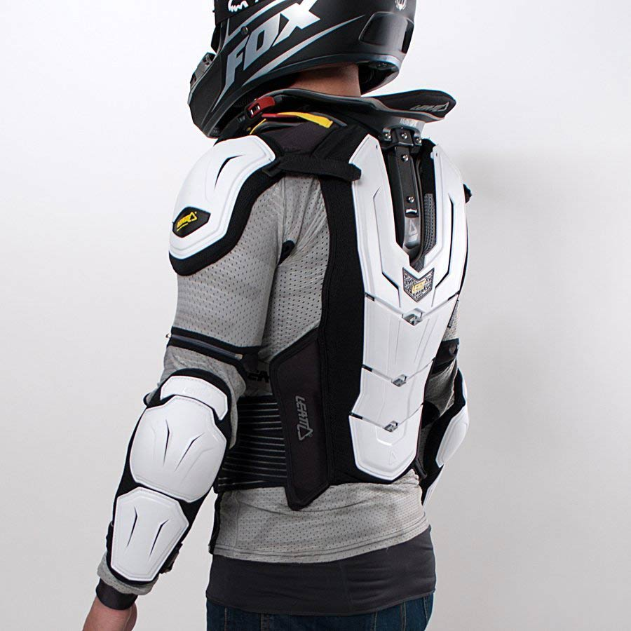 МОТОЗАЩИТА ТЕЛА LEATT BODY PROTECTOR 5.5 WHITE ― Артмото - купить квадроцикл в украине и харькове, мотоцикл, снегоход, скутер, мопед, электромобиль