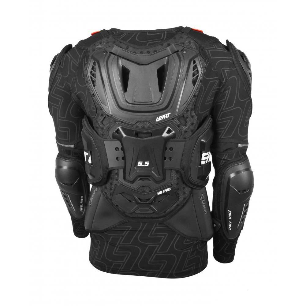МОТОЗАЩИТА ТЕЛА LEATT BODY PROTECTOR 5.5 BLACK ― Артмото - купить квадроцикл в украине и харькове, мотоцикл, снегоход, скутер, мопед, электромобиль