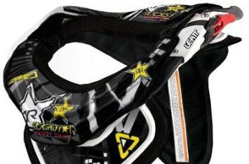 Деколь для защиты шеи LEATT Padding&Sticker GPX Rockstar Черная