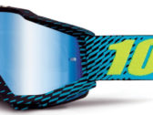 МОТО ОЧКИ 100% ACCURI GOGGLE R-CORE — MIRROR BLUE LENS
