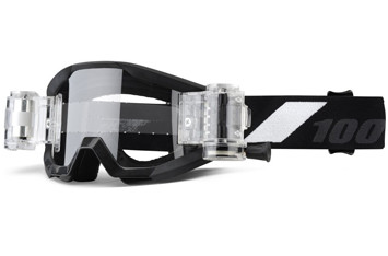 Детские мото очки 100% STRATA JR Mud Goggle Goliath - Clear Lens