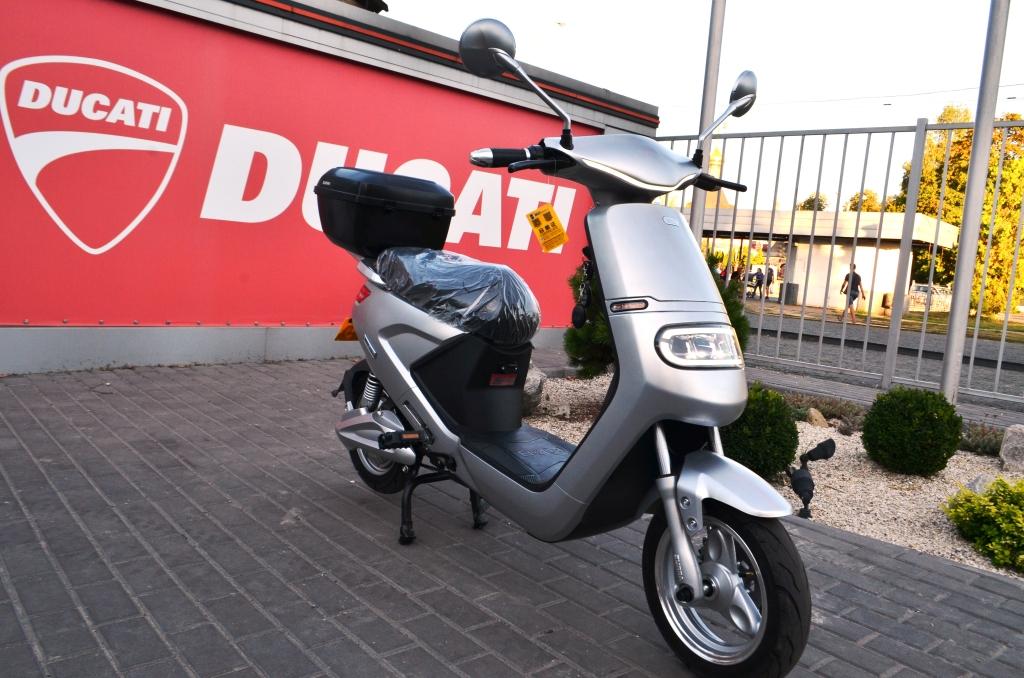 ЭЛЕКТРОСКУТЕР SUNRA FQ ― Артмото - купить квадроцикл в украине и харькове, мотоцикл, снегоход, скутер, мопед, электромобиль