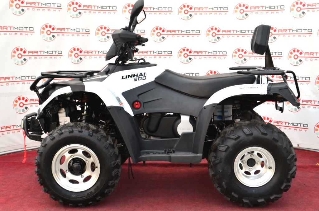 КВАДРОЦИКЛ LINHAI LH300ATV-D 4×4  Артмото - купить квадроцикл в украине и харькове, мотоцикл, снегоход, скутер, мопед, электромобиль