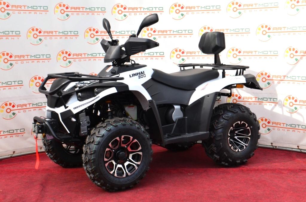 КВАДРОЦИКЛ LINHAI LH 300 ATV-3D 4×4  Артмото - купить квадроцикл в украине и харькове, мотоцикл, снегоход, скутер, мопед, электромобиль