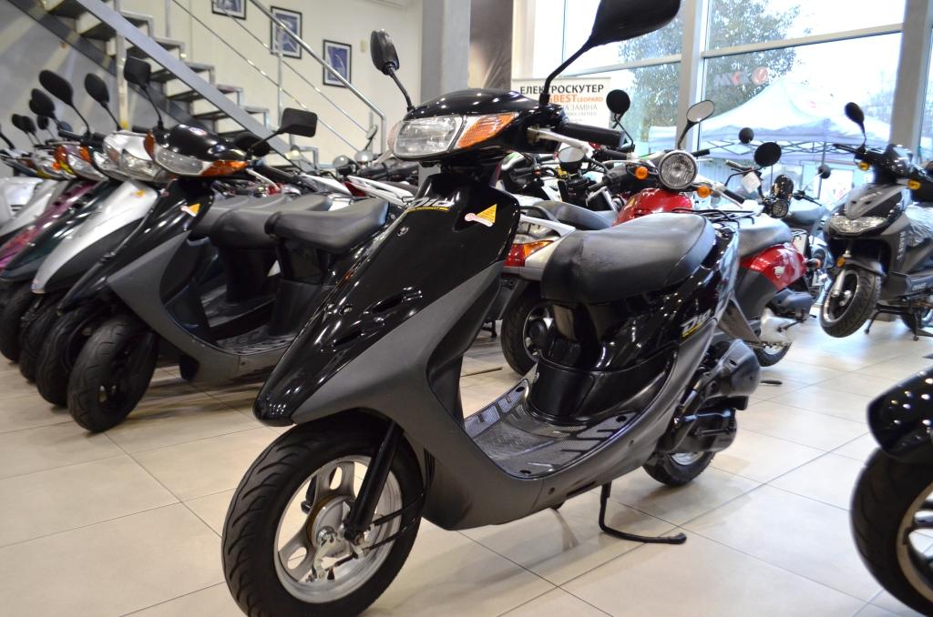 МОПЕД HONDA DIO AF34 BLACK  Артмото - купить квадроцикл в украине и харькове, мотоцикл, снегоход, скутер, мопед, электромобиль
