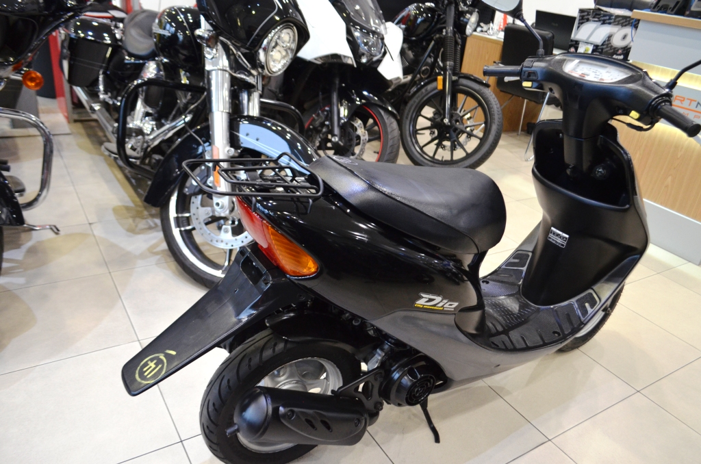 МОПЕД HONDA DIO AF34 BLACK ― Артмото - купить квадроцикл в украине и харькове, мотоцикл, снегоход, скутер, мопед, электромобиль