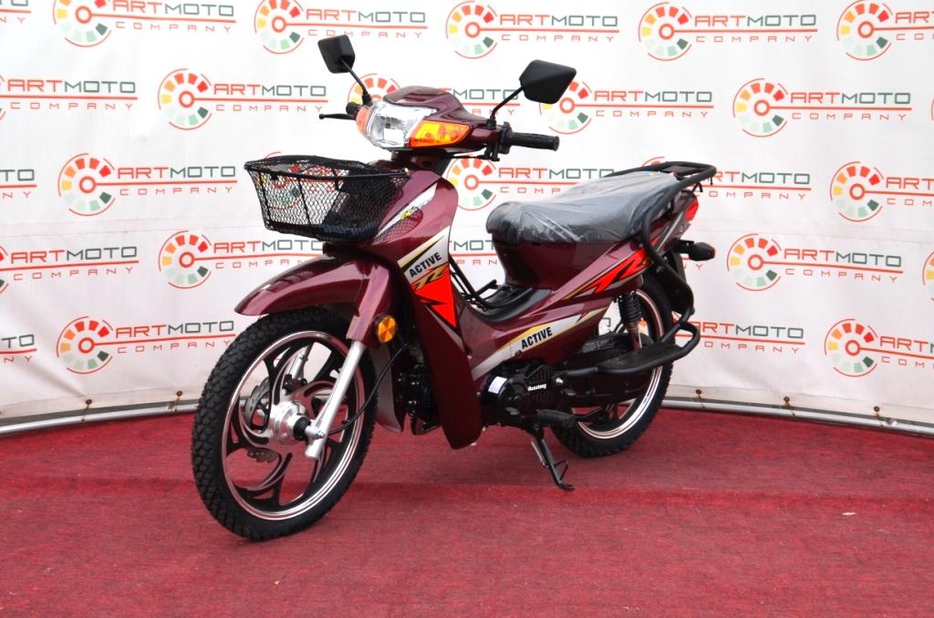 МОПЕД MUSSTANG Active MT125-3  Артмото - купить квадроцикл в украине и харькове, мотоцикл, снегоход, скутер, мопед, электромобиль