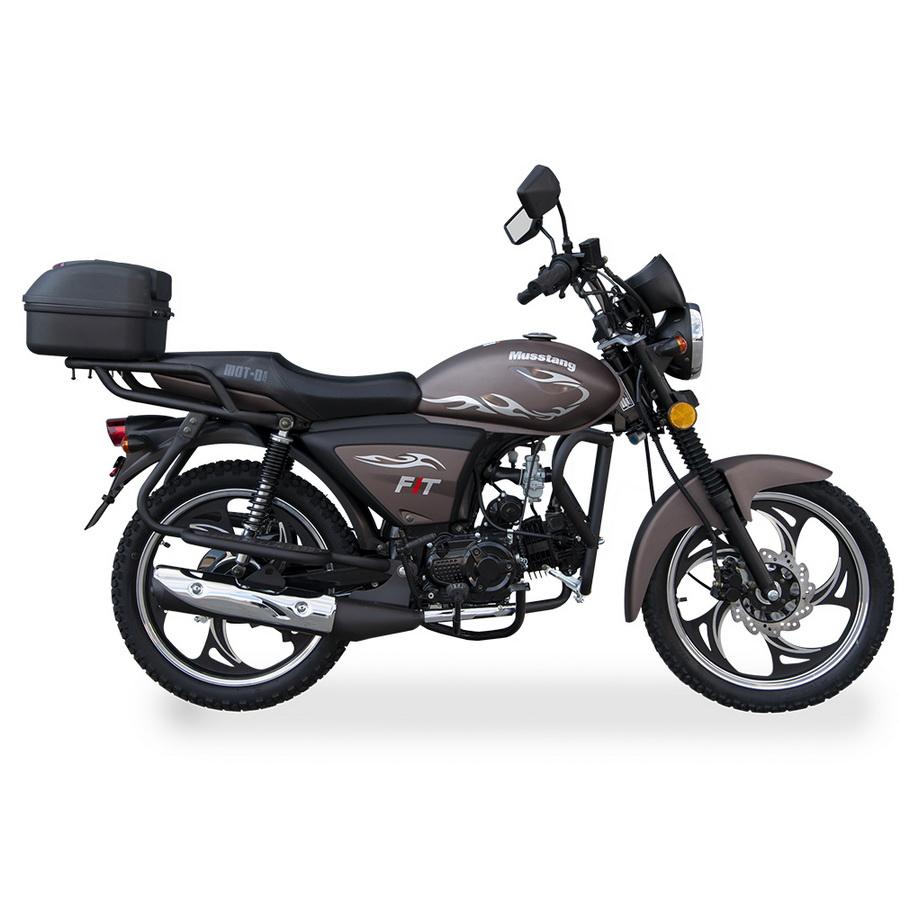 МОПЕД MUSSTANG Alfa FIT MT125-8  Артмото - купить квадроцикл в украине и харькове, мотоцикл, снегоход, скутер, мопед, электромобиль