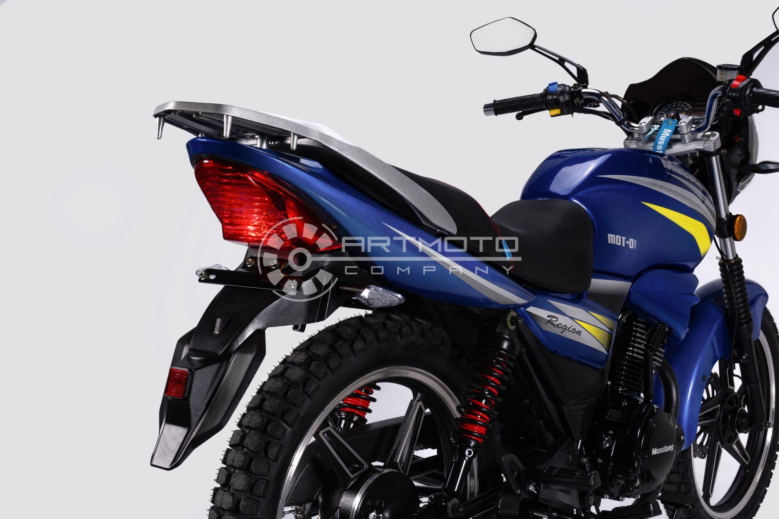 МОТОЦИКЛ MUSSTANG Region MT150  Артмото - купить квадроцикл в украине и харькове, мотоцикл, снегоход, скутер, мопед, электромобиль