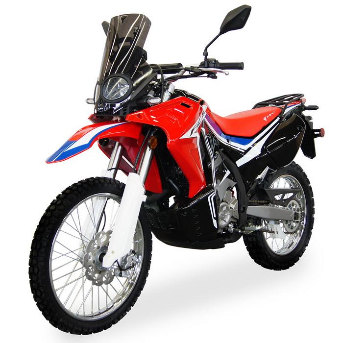 МОТОЦИКЛ KOVI FCS 250 red ― Артмото - купить квадроцикл в украине и харькове, мотоцикл, снегоход, скутер, мопед, электромобиль